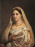 La Donna Velata Giclee Print by Raffaello Sanzio