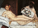 Olympia Giclee Print by Édouard Manet