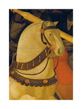 Rout of St Roman (Battle of St Roman) Giclée-tryk af Paolo Uccello