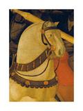 Rout of St Roman (Battle of St Roman) Giclée-Druck von Paolo Uccello