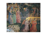 Frescoes of the Chapel of the Magi Giclée-tryk af Benozzo Gozzoli