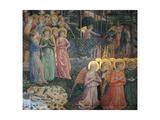 Frescoes of the Chapel of the Magi Giclée-Druck von Benozzo Gozzoli