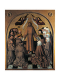 St Francis Submits the Rule To the Franciscan Orders Giclee Print by  Colantonio