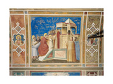 Scenes From the Life of the Virgin Presentation of the Virgin in the Temple Giclee Print by  Giotto di Bondone