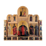 Polyptych of the Misericordia (Or Virginn of the Mercy) Giclee Print by Pietro di Benedetto