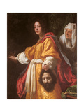 Judith with the Head of Holofernes Giclée-tryk af Cristofano Allori