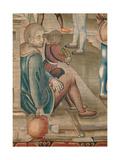 Months. January (I Mesi Trivulzio. Gennaio) Giclee Print by Benedetto from Milan (Bramantino)