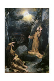 Saint Francis Receiving the Stigmata Giclee Print by school of Baroccio