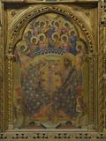 Polyptich of St Clare Giclée-Druck von Paolo Veneziano