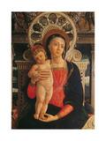 San Zeno Altarpiece (Holy Conversation) Reproduction procédé giclée par Andrea Mantegna