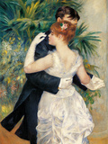 City Dance Giclee Print by Pierre-Auguste Renoir