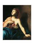 St Agatha in Prison Giclée-tryk af Massimo Stanzione