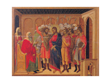 The Maestà, Front, by Duccio Di Buoninsegna, 1308 - 1311, 14th Century, Tempera on Panel Giclee Print by Duccio Di buoninsegna