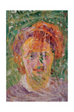 Portrait of a Woman Giclee Print by Boccioni Umberto