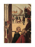 Legend of St Ursula. the Arrival of the English Ambassadors (At the Court of Brittany) Giclee Print by Vittore Carpaccio