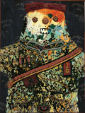 Gnral Mchant (Nasty General) Gicléetryck av Enrico Baj