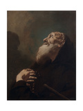 Saint Francis from Paola (San Francesco Di Paola) Giclee Print by Francesco Cappella (Daggiù)