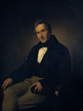 Portrait of Alessandro Manzoni Giclee Print by Hayez Francesco