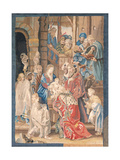 Adoration of the Magi, Tapestry of San Michele a Ripa, Maybe Rome Giclee Print