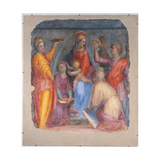 Sacred Conversation with the Madonna and Child and Sts Lucy Giclee Print by  Agnes