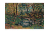 Landscape Giclee Print by Umberto Boccioni