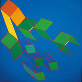 Dissipative Structures Giclee Print by Achille Perilli