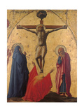 Crucifixion (From Pisa Polyptych) Giclee Print by Tommaso Masaccio