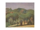 Landscape Giclee Print by Morandi Giorgio