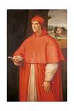 Portrait of Cardinal Alessandro Farnese Giclée-tryk af Raffaello Sanzio