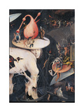 Garden of Earthly Delights - Hell Music Giclee Print by Hieronymus Bosch