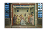 Scenes From the Life of Christ Flagellation Giclee Print by  Giotto