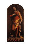 Saint Agnes Giclee Print by Barbara Longhi