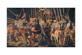 Micheletto Da Cotignola Engages in Battle (the Battle of San Romano) Giclee Print by Paolo di Dono (Uccello)