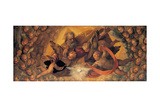 God the Father Surrounded by Angels Giclee Print by school Caliari Paolo