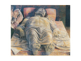 Christo in Scurto (the Foreshortened Christ Or the Dead Christ) Giclee Print by Andrea Mantegna