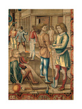 Months. Jenuary (I Mesi Trivulzio. Gennaio) Giclee Print by Benedetto from Milan (Bramantino)