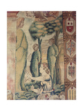 Months. March (I Mesi Trivulzio. Marzo) Giclee Print by Benedetto from Milan (Bramantino)