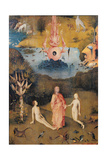 Garden of Earthly Delights - the Earthly Paradise Giclee Print by Hieronymus Bosch