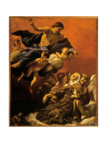 Ecstasy of St. Margaret of Cortona Giclee Print by Lanfranco Giovanni