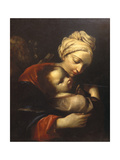 Holy Family Giclee Print by Crespi Spagnuolo (or Spagnolo)