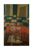 Sleeping Girl Giclee Print by Casorati Felice
