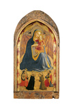 Madonna and Child with Sts John the Baptist Giclee Print by  Dominic