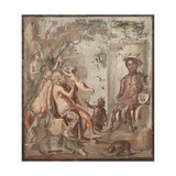 Childhood of Dionysus Giclee Print by  Unknown