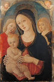 Madonna with Child and Two Angels Giclee Print by Cozzarelli Guidoccio