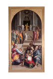 St Jerome and the Angel of the Judgement (St Jerome and Angels Vision) Giclee Print by Bartolomeo Passarotti