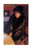 Portrait of Marta Bonnard Giclee Print by Pierre Bonnard