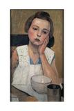 Portrait Giclee Print by Casorati Felice