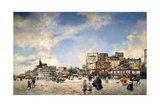 Clichy Palace in Paris (Place Clichy a Parigi) Giclee Print by Giovanni Boldini