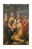 Madonna with Child and Sts. Augustine Giclee Print by  Jerome