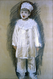 Little Pierrot (Piccolo Pierrot) Giclee Print by Giuseppe De Nittis